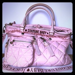 🧸Juicy Couture🎀 GUC Quilted Diaper Bag